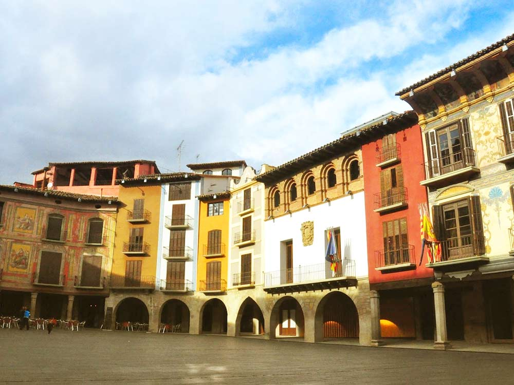 Plaza Mayor Graus Huesca